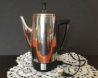 Presto Coffee Percolator, Stainless Steel Large Capacity Percolator