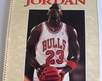 Michael Jordan: MVP & NBA Champ Book and Air Poster