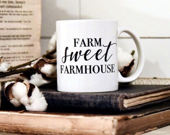FARM SWEET FARMHOUSE Coffee Mug
