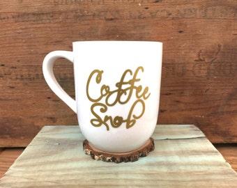 Coffee snob coffee cup / coffee mug / coffee lovers