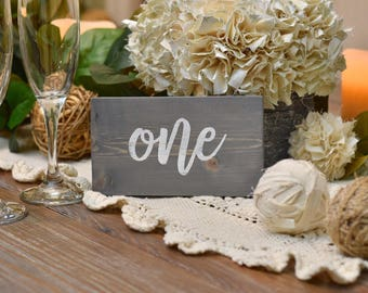 Wedding table numbers - wooden table numbers  - wedding details - table settings - receptions decor - wedding numbers