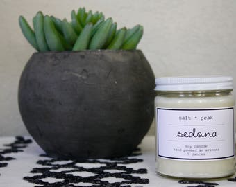 Soy Candle, Arizona Candle, Scented Soy Candle, Sedona Candle, Gift Candle, Spa Candle