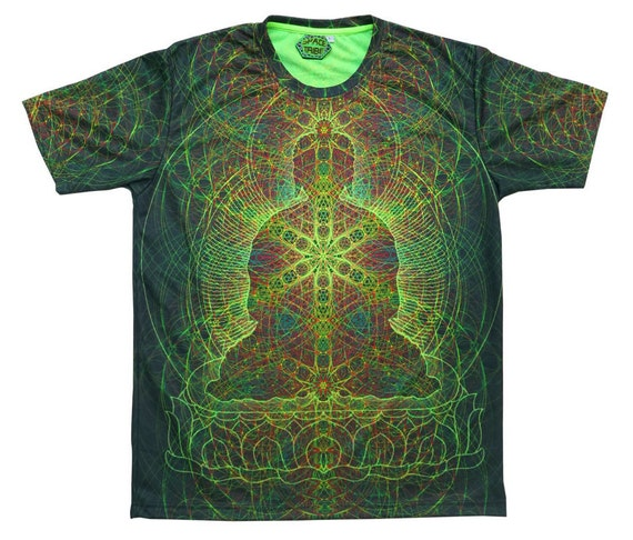 Uv Sublime Psychedelic T Shirt 39 Rainbow Buddha 39 All