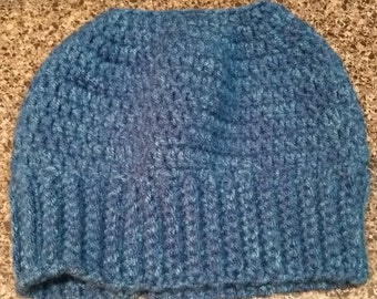 NEW - Messy Bun Top Knot Hat