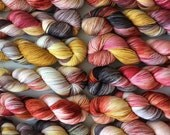 Sock PANDEMONIUM POT Hand Dyed 80/20 Australian Merino Nylon Revelry Sock 4 ply Fingering Knitting Yarn Wala