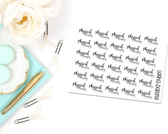 Physical Therapy Hand Letter Planner Stickers
