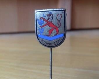 WSV Wuppertal -  enamel badge Germany Football / Soccer