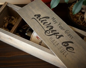 Handmade Wine Box