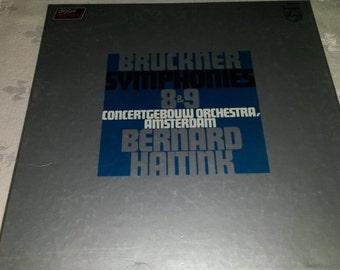 Anton BRUCKNER symphonies nos.8 & 9, conductor BERNARD HAITINK