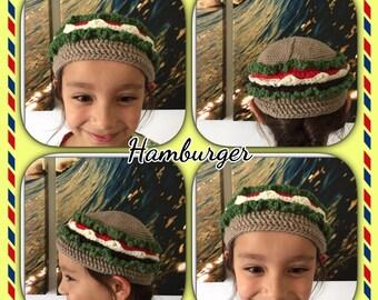Crochet Hat. Crochet Beanie - Knit Beanie. Knitted Hat - Chidren Knit Beanie. Food Hat