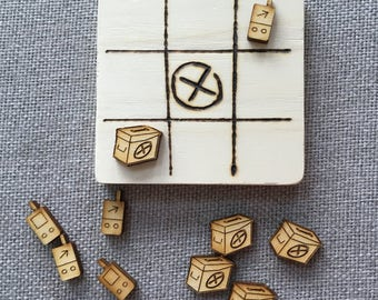 Tic Tac Toe: geocache edition
