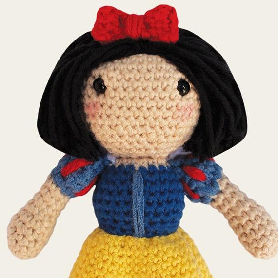 Amigurumi Join : Disney Princess: Snow White, Jasmine, Cinderella ...