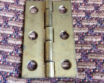 Vintage Brass Hinge