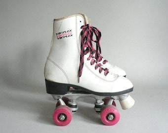 Youth Girls Size 2 Roller Skates By Variflex