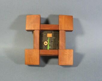 Miniature Art Quilt in Cherry Frame by pam beal & wayne walma