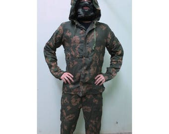 Russian Soviet Army Camo Suit KZS Uniform Berezka Meshy