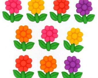Dress it up buttons - Garden Gems
