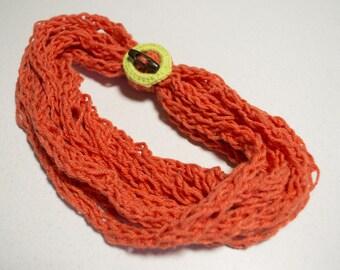 Scarf - Necklace crochet