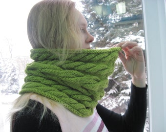 Hand knit scarf Winter accessories Infinity scarf Unisex scarf Fashion scarf Long scarf Birthday gift for her Gift for girl Gifts for sister