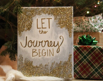 Let The Journey Begin Canvas