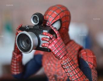 Spider-man Camera Print (minor imperfection) 11 x 17 Print