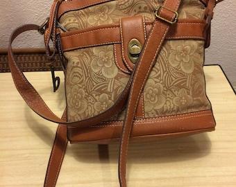 B o c  canvas cross body purse