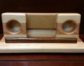 Acoustic Smartphone Speaker - Phone Speaker - Wooden Speaker - Acoustic Amplifier - Wood Wireless Phone Speaker - Wooden Acoustic Amplifier