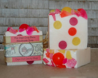 Cape Cod Candy Shop handmade soap, candy soap