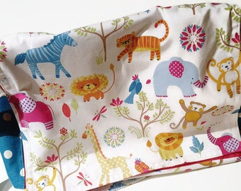 Messenger baby bag, zoo animals, messenger diaper bag, diaper baby bag,messenger school bag, crossbody diaper bag, crossbody bag, canvas bag