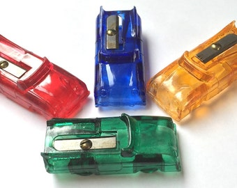 Vintage 1950s Pencil Sharpener - Car with Fins - Old Shop Stock