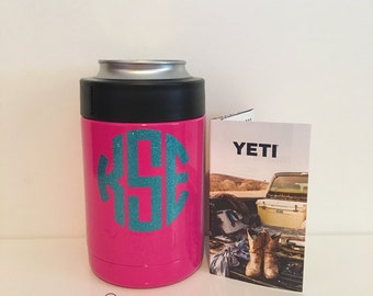 FREE shipping!!! Yeti: Colored Yeti Colsters-Monogramming Available. Ships in 2-7 business days!
