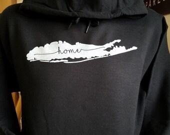 Long Island Home Hooded Sweatshirt