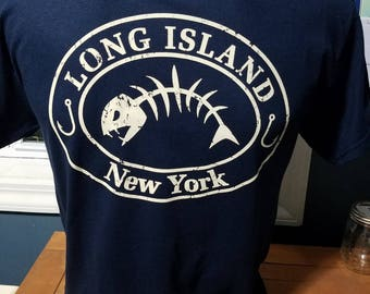 Long Island Fishing Tee