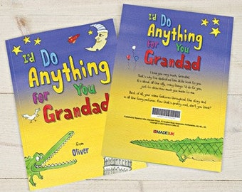 I'd Do Anything for You Grandad Book - Hard back