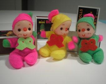 Doll-Mini Bean Dolls-Doll Inside a Matchbox-Toys for Girls- Pocket Doll-Miniature Doll