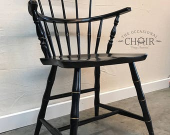 Vintage 1950s Nichols and Stone Windsor Arm Chair
