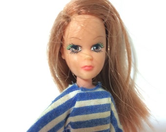 Vintage 1973 Miss Matchbox Doll by