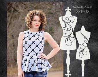 The Jawbreaker Dress (Women's Sizes) PDF Sewing Pattern