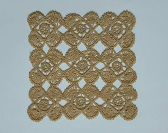 20% discount - New beige handmade crochet doily / Lace doily / Table center decoration / Table cloth