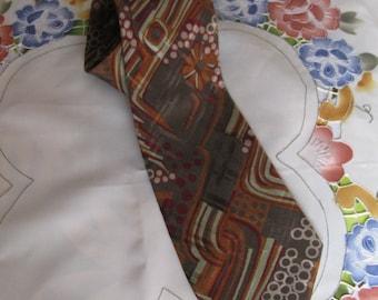 """Vintage """"Molteni Gabriele"""" Necktie 100% Silk Made in Italy"""