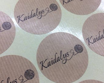 Custom stickers, logo stickers, kraft, round labels, custom labels , business stickers, custom sticker, kraft labels, business labels