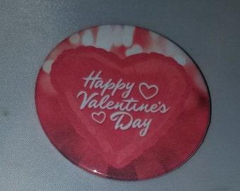 Happy Valentine's Day - Button Pin - S-V10010