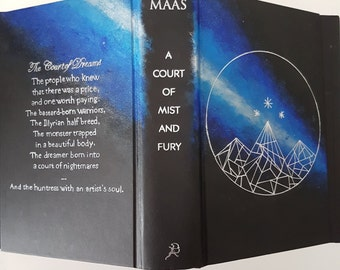 A Court of Mist and Fury painted hardcover