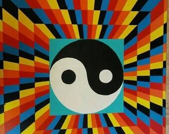 Abstract Yin Yang