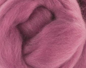 Extrafine merino wool roving 2oz for  wet felting, spinning and other textile arts