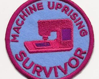 Machine Uprising Survivor Patch