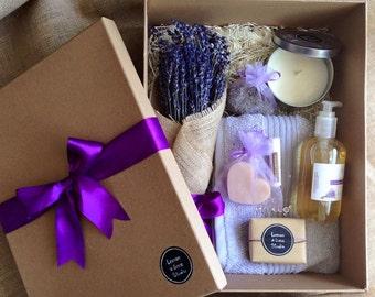 Lavender handmade soap gift pack