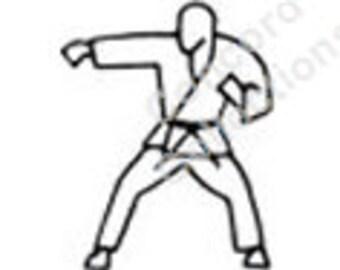 Karate Machine Embroidery Designs