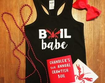Boil Babe Crawfish Shirt