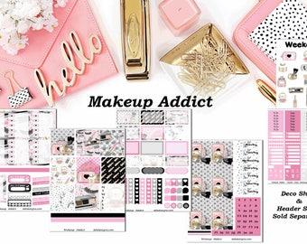 Makeup Addict, 6 sheet weekly kit//EC//Hp classic, large mini